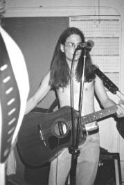 Adam @ Rehearsal Spot. 1994.