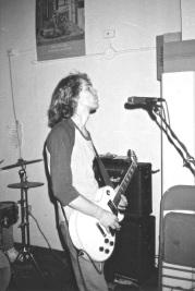 Tom @ Rehearsal Spot. 1994.