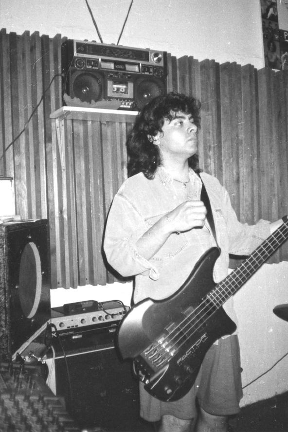 Helder @ Rehearsal Spot.  1994.